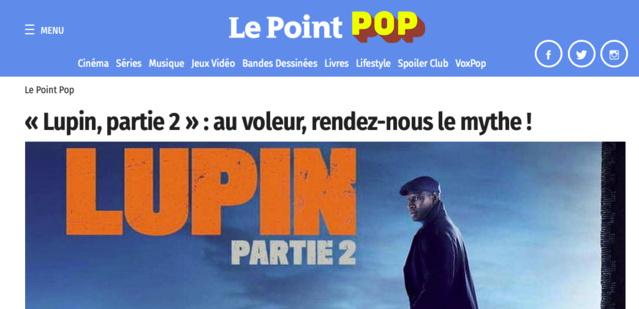 Pas toujours bien ficelé ou joué, Lupin est un divertissement plaisant