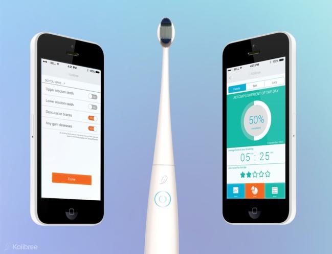 Les brosses à dents sont désormais connectées