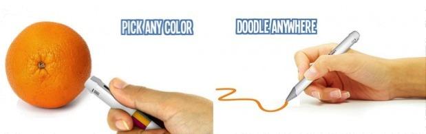 Scribble : le stylo qui invente la couleur