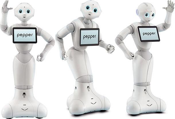 Pepper, le robot franco-japonais qui fait un carton