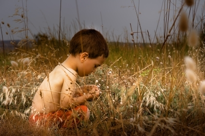 """""""Young Child In Nature"""", chrisroll"""