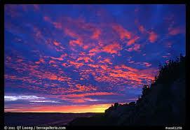 Le coucher de soleil sur commande