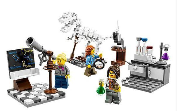 La parité, même chez Lego