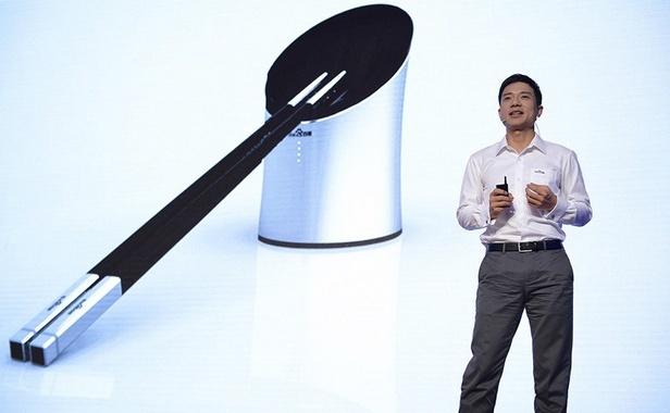 Les smart baguettes de Robin Li