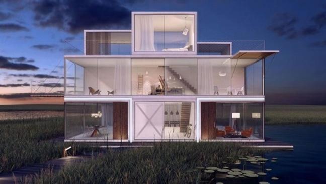 « Tetris House », la maison Tetris