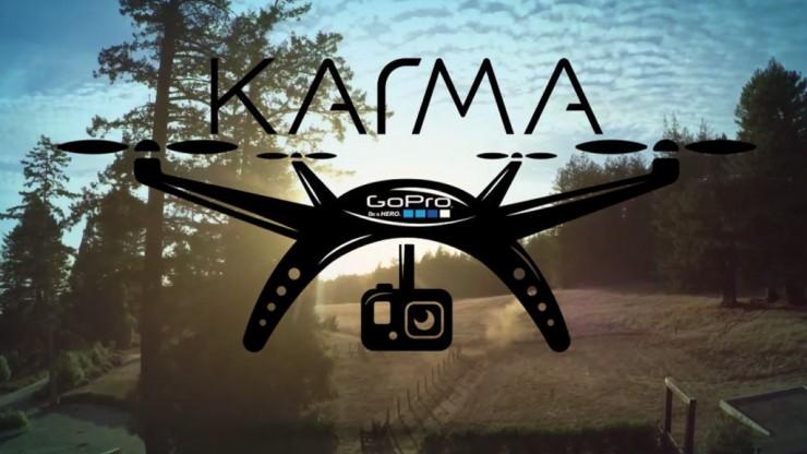 GoPro lance « Karma » un drone quadricoptère