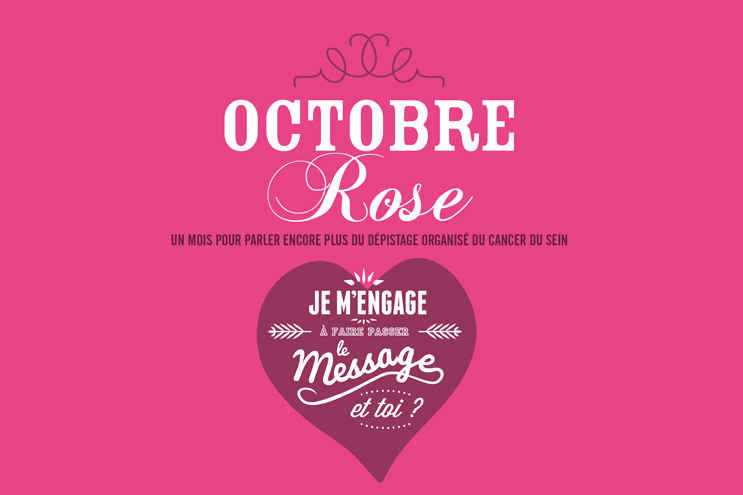 Cancer du sein, le mois d'Octobre sera rose