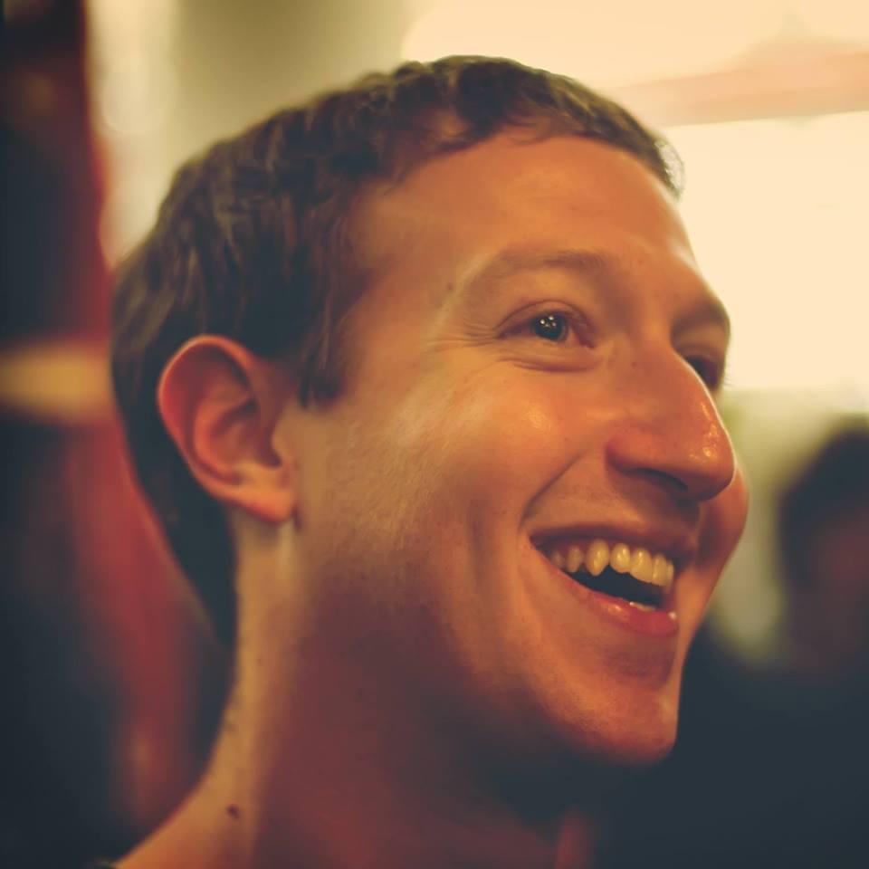 DR Compte Facebook de Zuckerberg