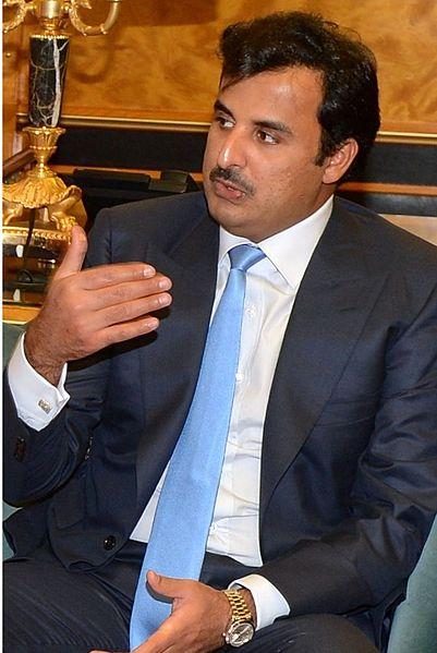 Cheikh Tamim ben Hamad Al Thani, l'émir du Qatar