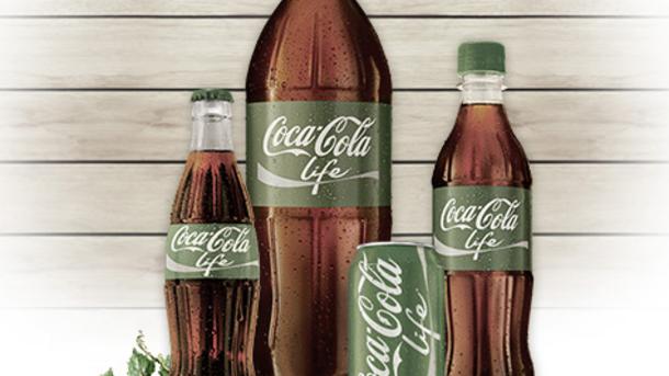 Coca-Cola Life : un nouveau soda qui part à la chasse aux calories