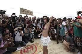 À Rio, une pro monokini