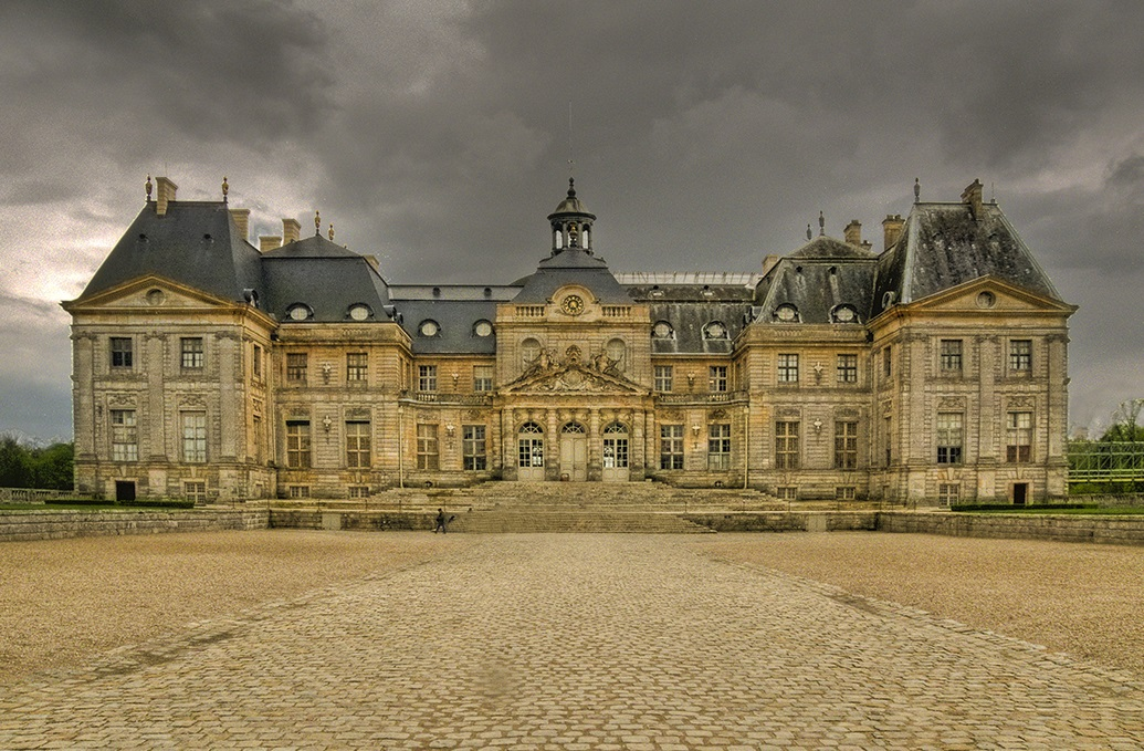 Vaux-le-Vicomte en cours de restauration (licence Creative Commons)