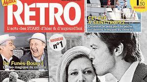 Presse : « Rétro » le magazine people qui regarde dans le rétro