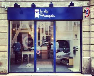La boutique Le Slip Français dans le Marais