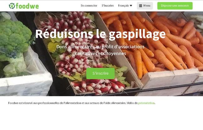 Foodwe, capture d'écran