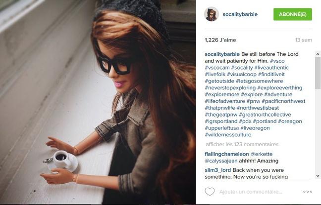La Barbie qui se « paye » les réseaux sociaux