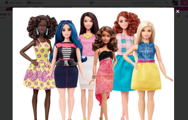 Barbie : #TheDollevolves