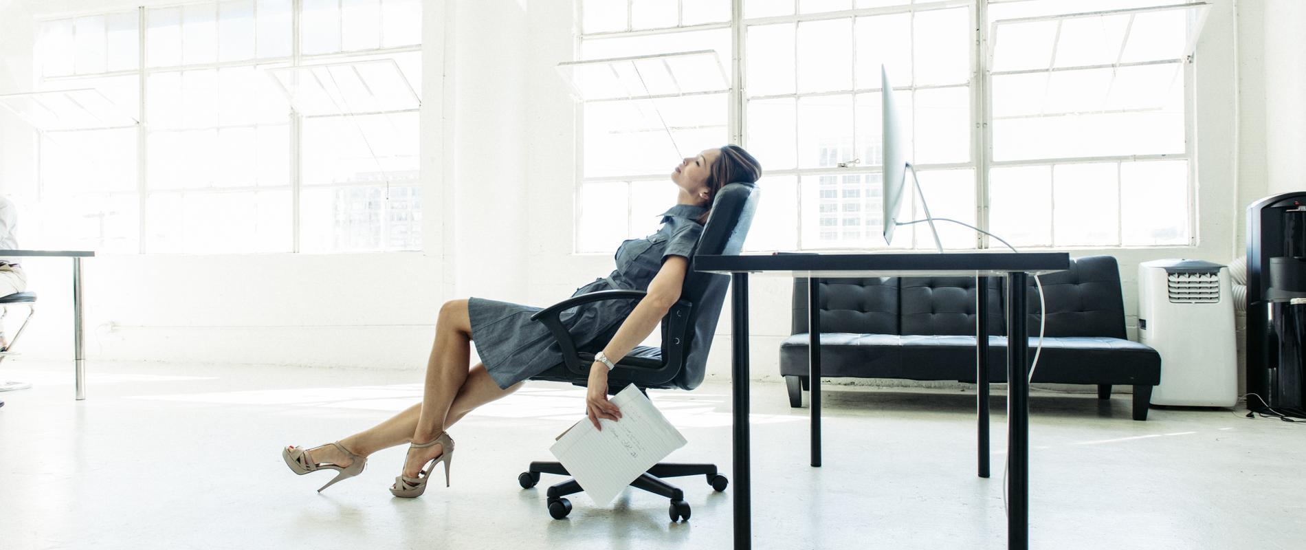 Fatigue au travail, ce qu'il faut éviter