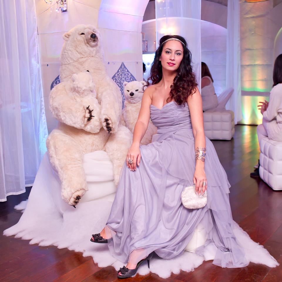 Manuela lors d'une Poulette Party cc Poulette Blog