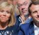 Le soir du premier tour, Emmanuel Macron est monté sur scène avec sa femme