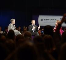 Macron veut être le candidat des femmes