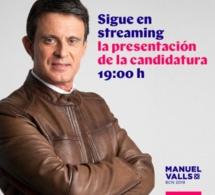A Barcelone, Manuel Valls semble avoir changé de styliste