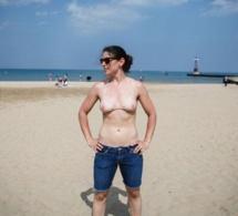 """Et voici le maillot de bain """"faux seins"""""""
